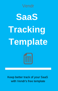 Free Software Tracking Template